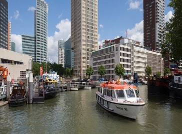 City Cruise De Tenders in Rotterdam